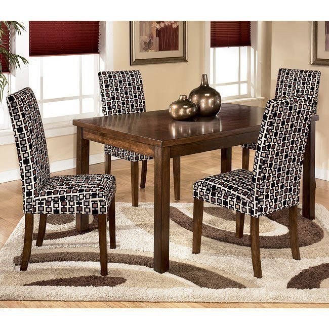 Charrell Rectangular Dining Room Set with Onyx Chairs
