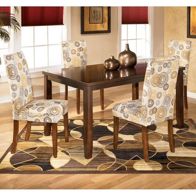 Charrell Rectangular Dining Room Set with Twinkle Chairs
