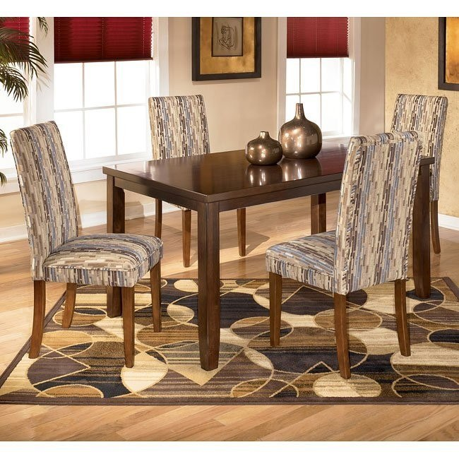 Charrell Rectangular Dining Room Set with Atlantic Chairs
