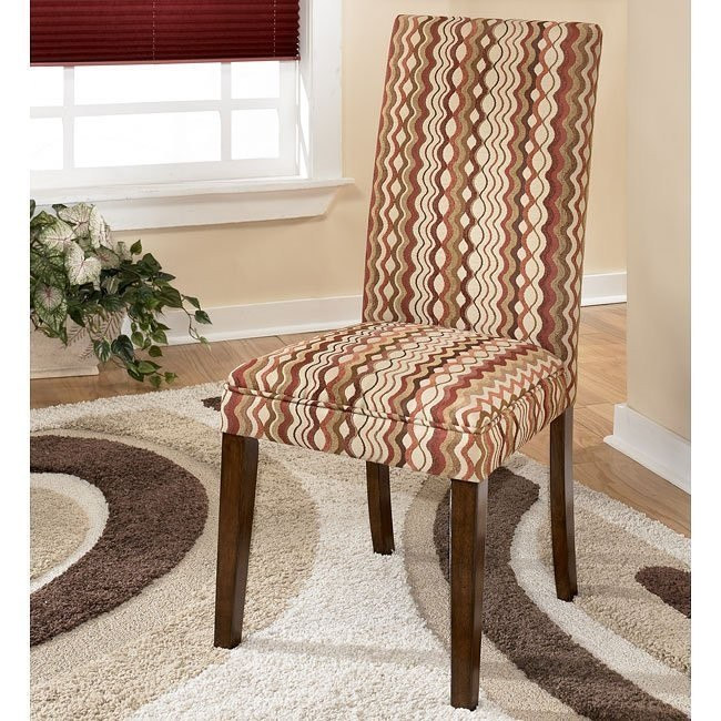 Vice Versa Side Chair (Set of 2) (Sangria)