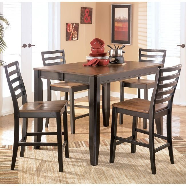 Alonzo Counter Height Dining Room Set