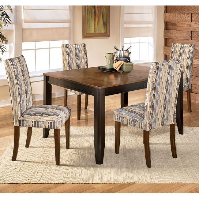 Alonzo Dining Room Set with Atlantic Chairs