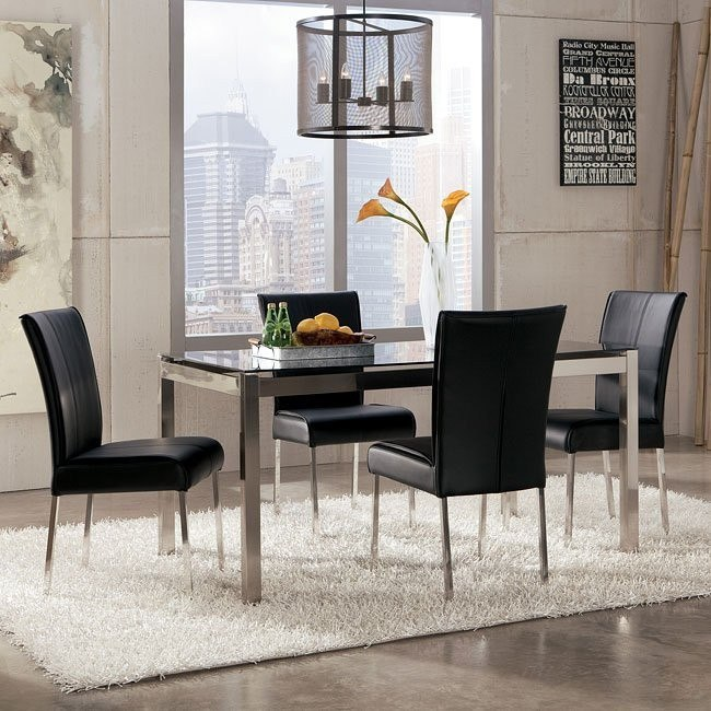 Baraga Dining Room Set (Black)