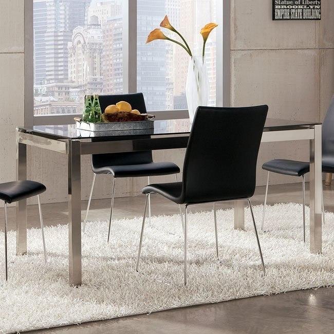 Baraga Dining Table w/ Black Top