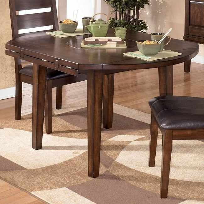 Larchmont Round Dropleaf Table