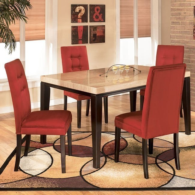 Naomi Dining Room Set with Salsa Chairs