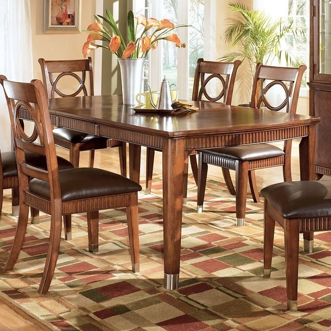 La Salle Rectangular Extension Dining Table