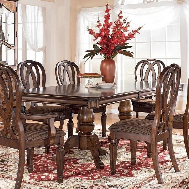 Superbe Hamlyn Pedestal Dining Table