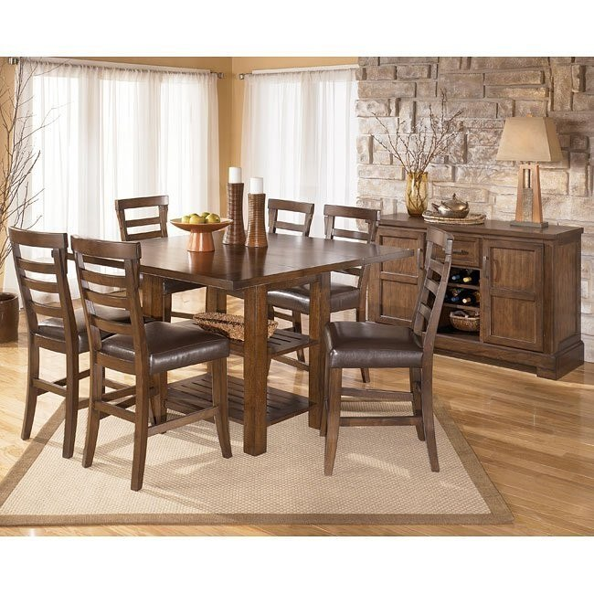 Pinderton Counter Height Dining Room Set