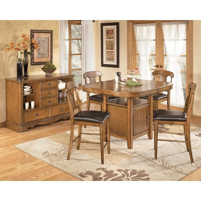 Mannus Counter Height Dining Room Set