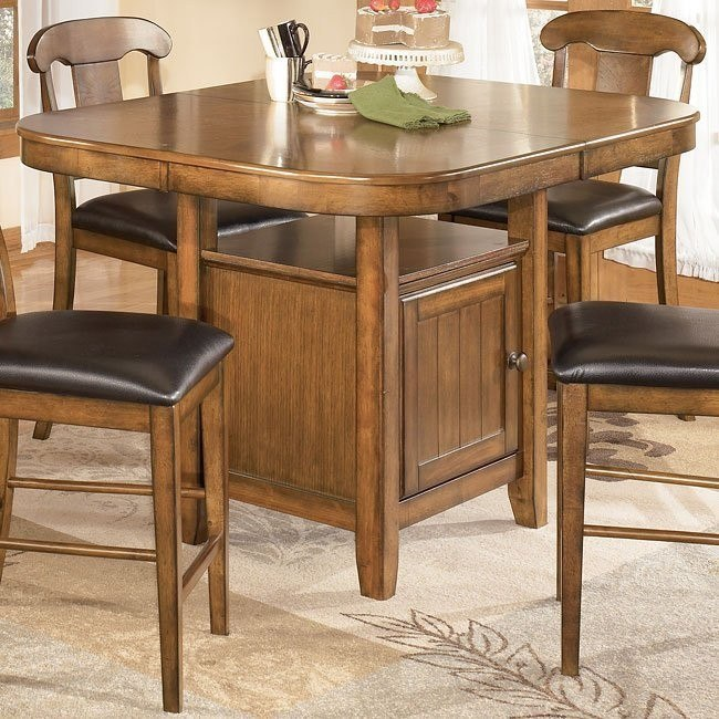 Mannus Counter Height Leaf Table