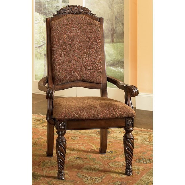 North Shore Upholstered Arm Chair (Set of 2)