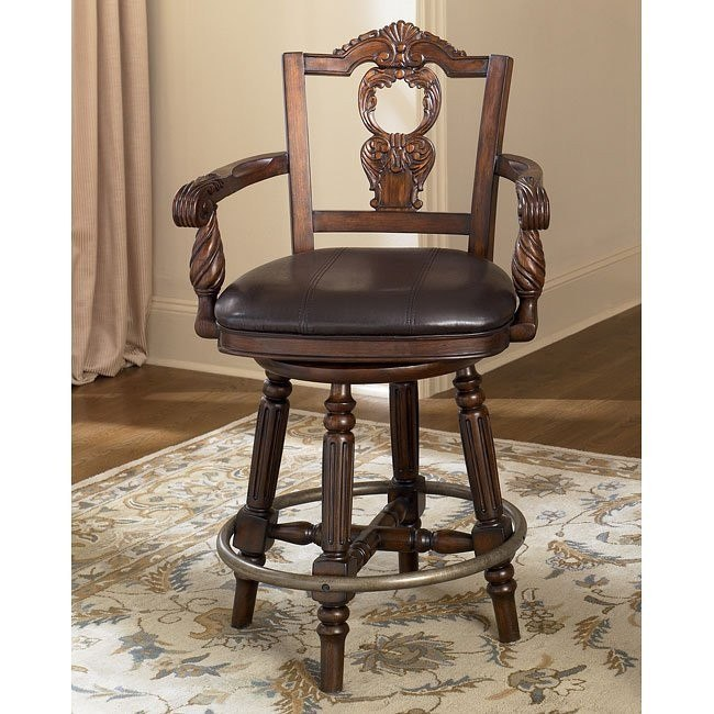 North Shore 24 inch Swivel Bar Stool