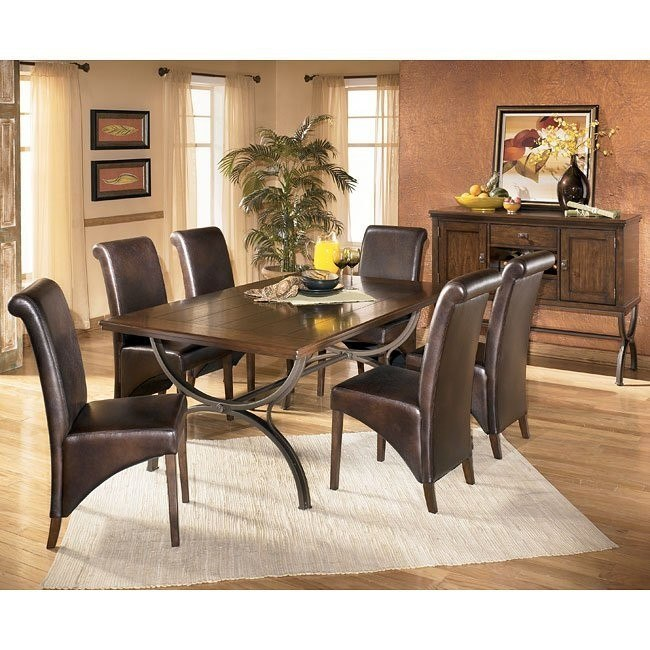 Bassello Rectangular Dining Room Set