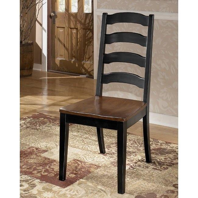 Owingsville Ladder Back Side Chair (Set of 2)