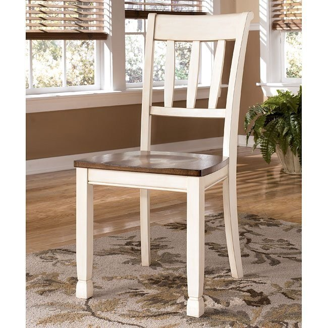 Whitesburg Slat Back Side Chair (Set of 2)