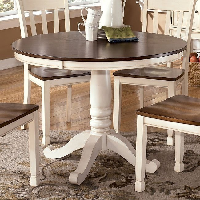 Whitesburg Round Dining Table Signature Design By Ashley