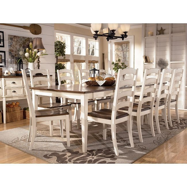 Formal Dining Rooms Sets: Whitesburg Formal Dining Room Set W/ 2 Chair Choices By