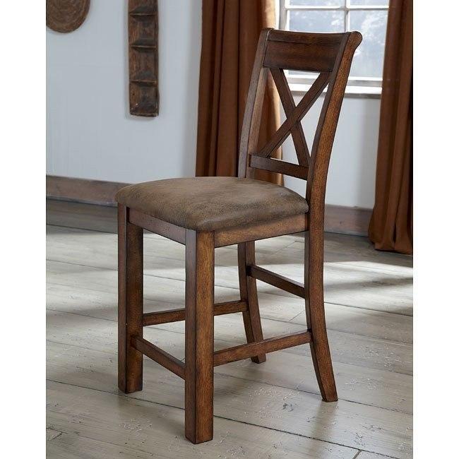 Waurika Counter Height Chair (Set of 2)