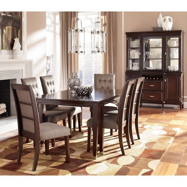 Larimer Dining Room Set w/ Extension Table
