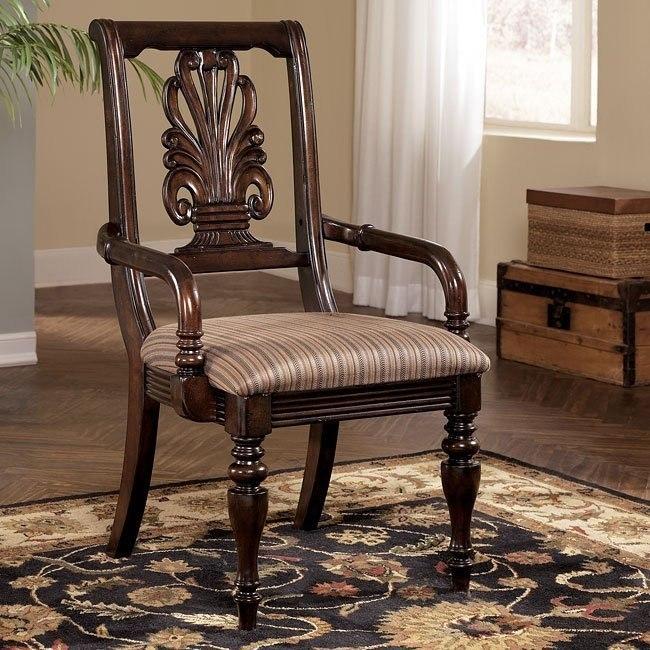 Key Town Splatback Arm Chair (Set of 2)