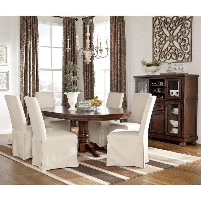 Porter Dining Room Set w/ Burkesville Chairs