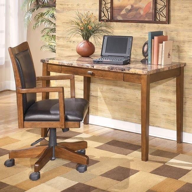 Theo Home Office Set w/ Leg Desk