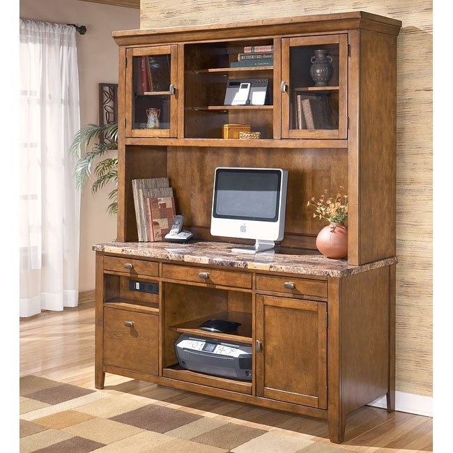 Theo Large Credenza w/ Large Hutch