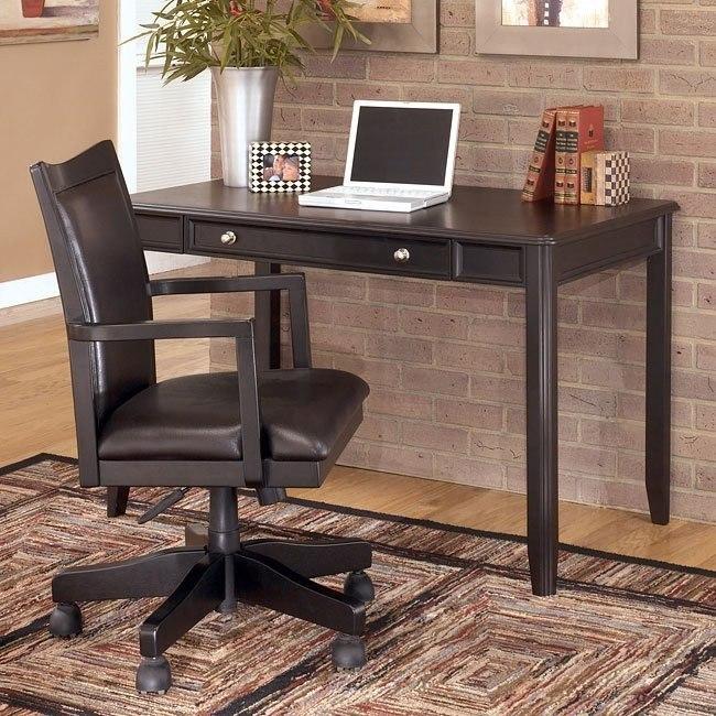 Carlyle Home Office Set w/ Leg Desk