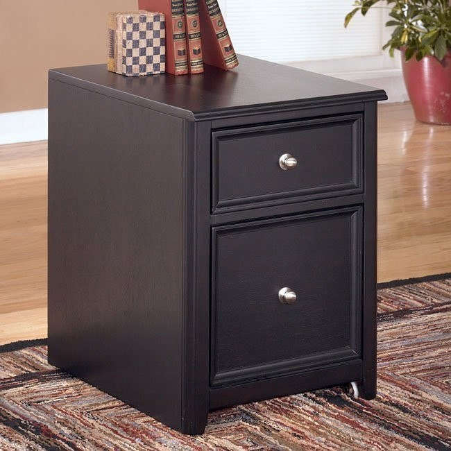 Carlyle 2-Drawer Mobile File Cabinet