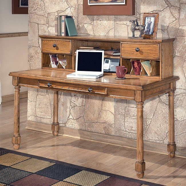 Holfield Large Leg Desk with Low Hutch
