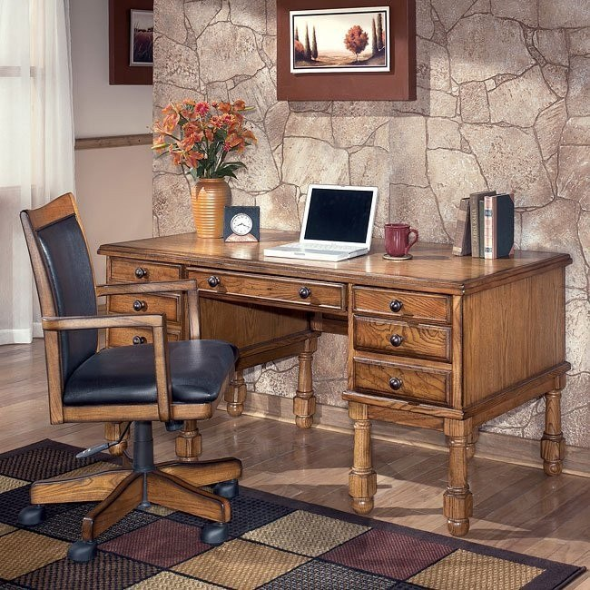 Holfield Home Office Set with Storage Desk