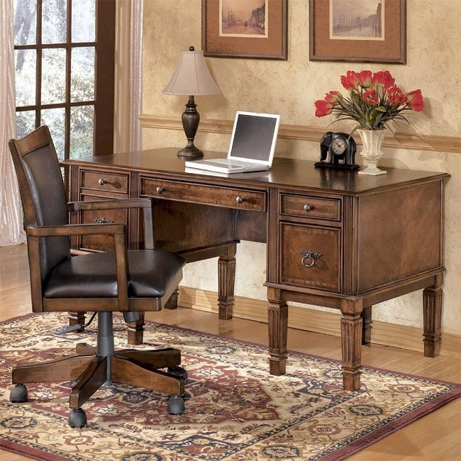 Hamlyn Home Office Set with Storage Desk