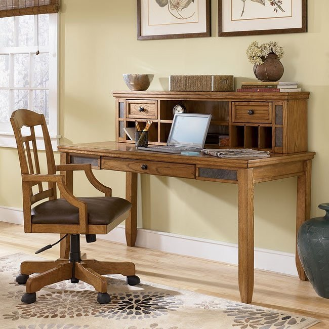 Kinley Home Office Set w/ Leg Desk