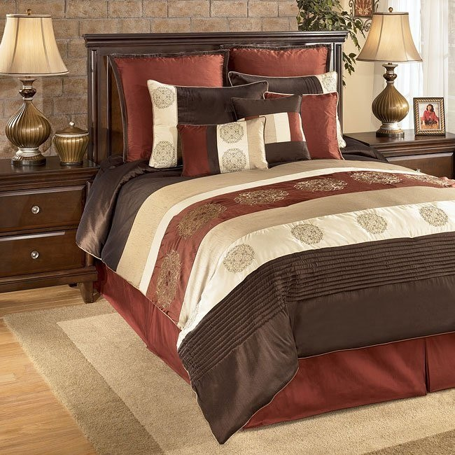 Milano - Russett Bedding Set