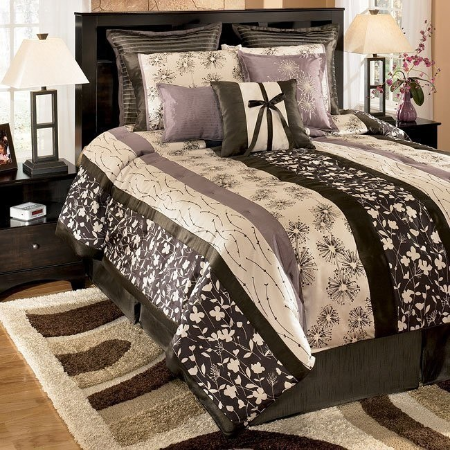 Simone - Graphite Bedding Set