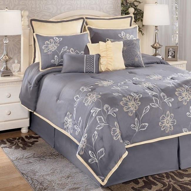 Maxine - Gray Bedding Set
