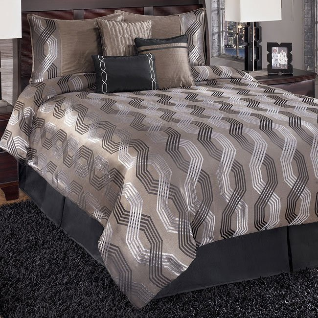 Quinn - Onyx Bedding Set