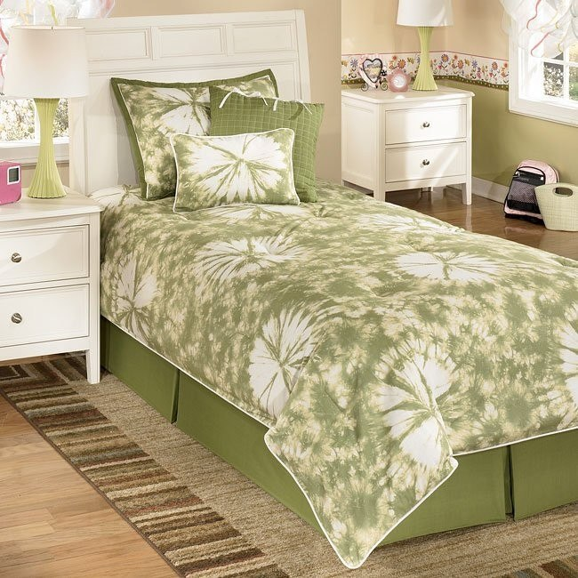 Laguna - Lime Youth Bedding Set