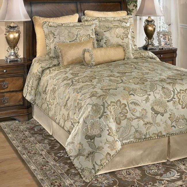Calista - Sage Bedding Set