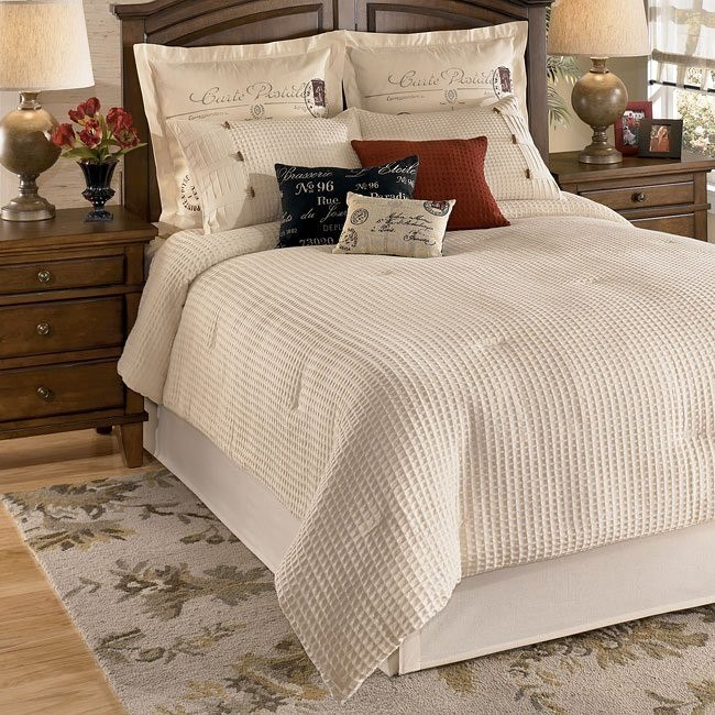 Escondido Natural Bedding Set