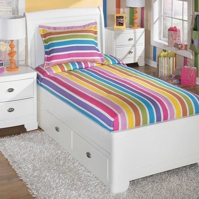 Lollipop Rainbow Bedding Set