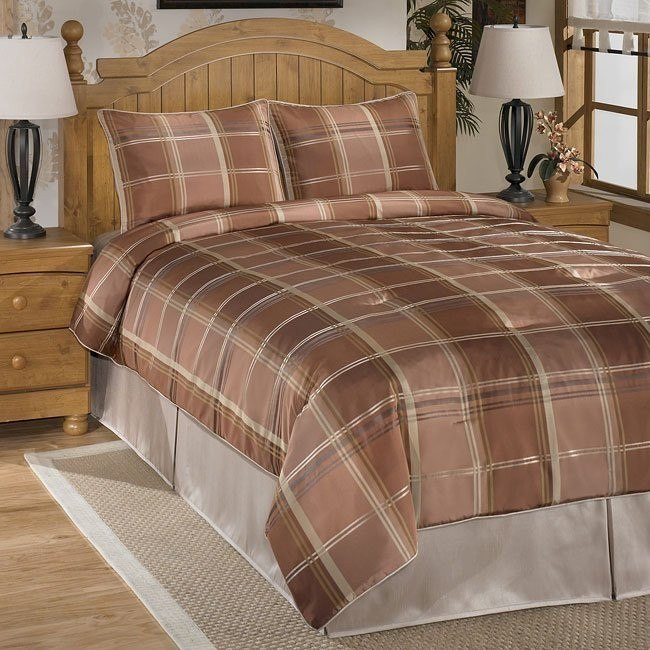 Chester Rust Bedding Set