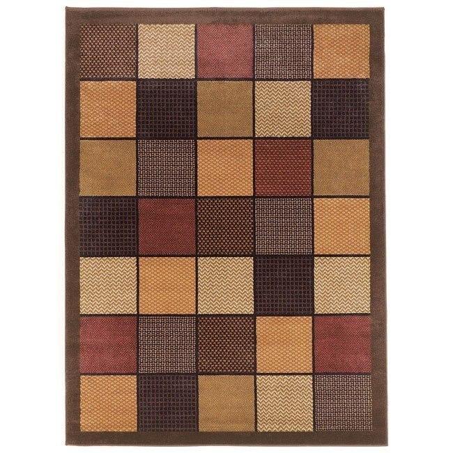 Patchwork - Brown Rug