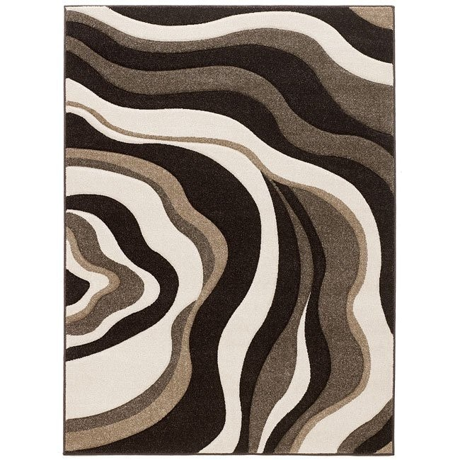 Rivoletto - Brown Rug