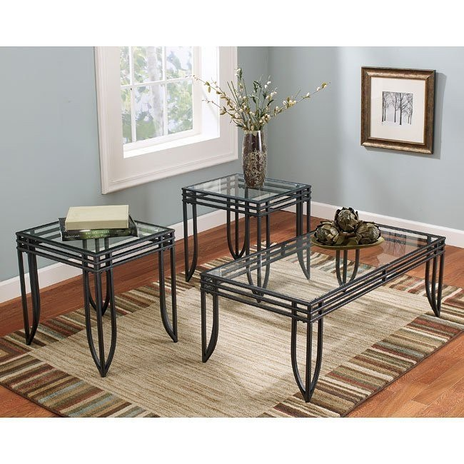 Exeter 3-in-1 Occasional Table Set