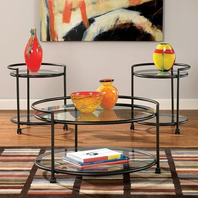 Smithland 3-Piece Occasional Table Set