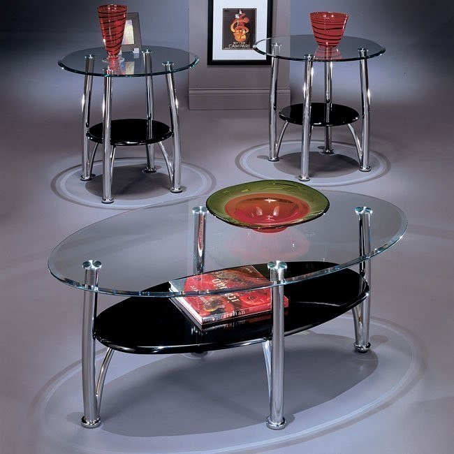 Dempsey 3-in-1 Occasional Table Set