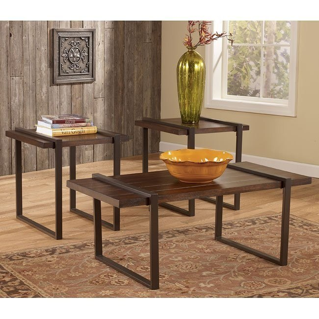 Salyersville 3-Piece Occasional Table Set