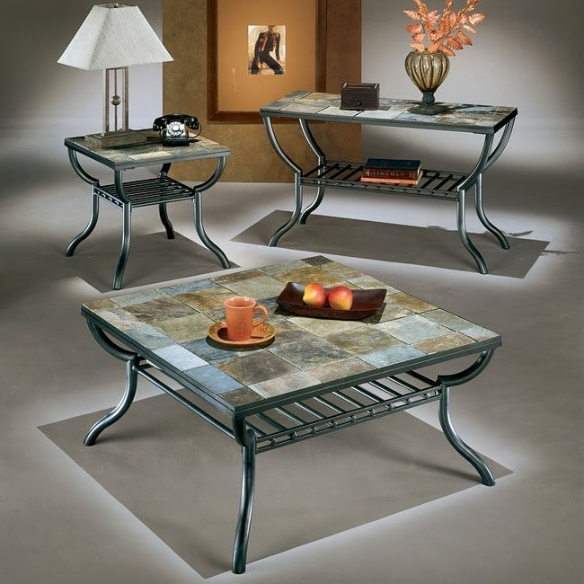 Antigo Square Occasional Table Set